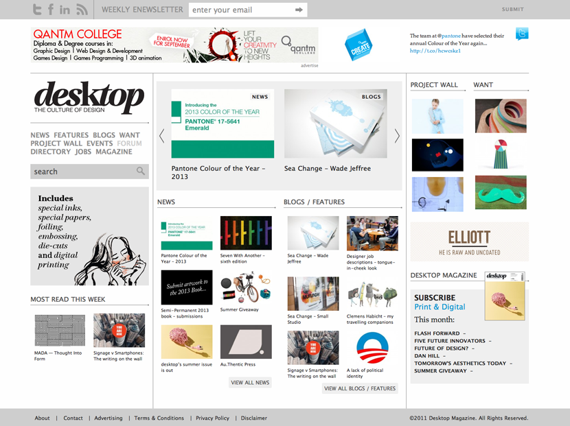 Desktop magazine Screenshot3